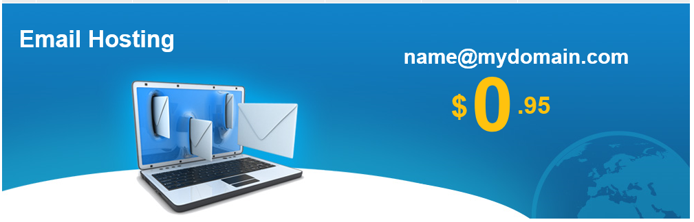 We offer cheap email hosting